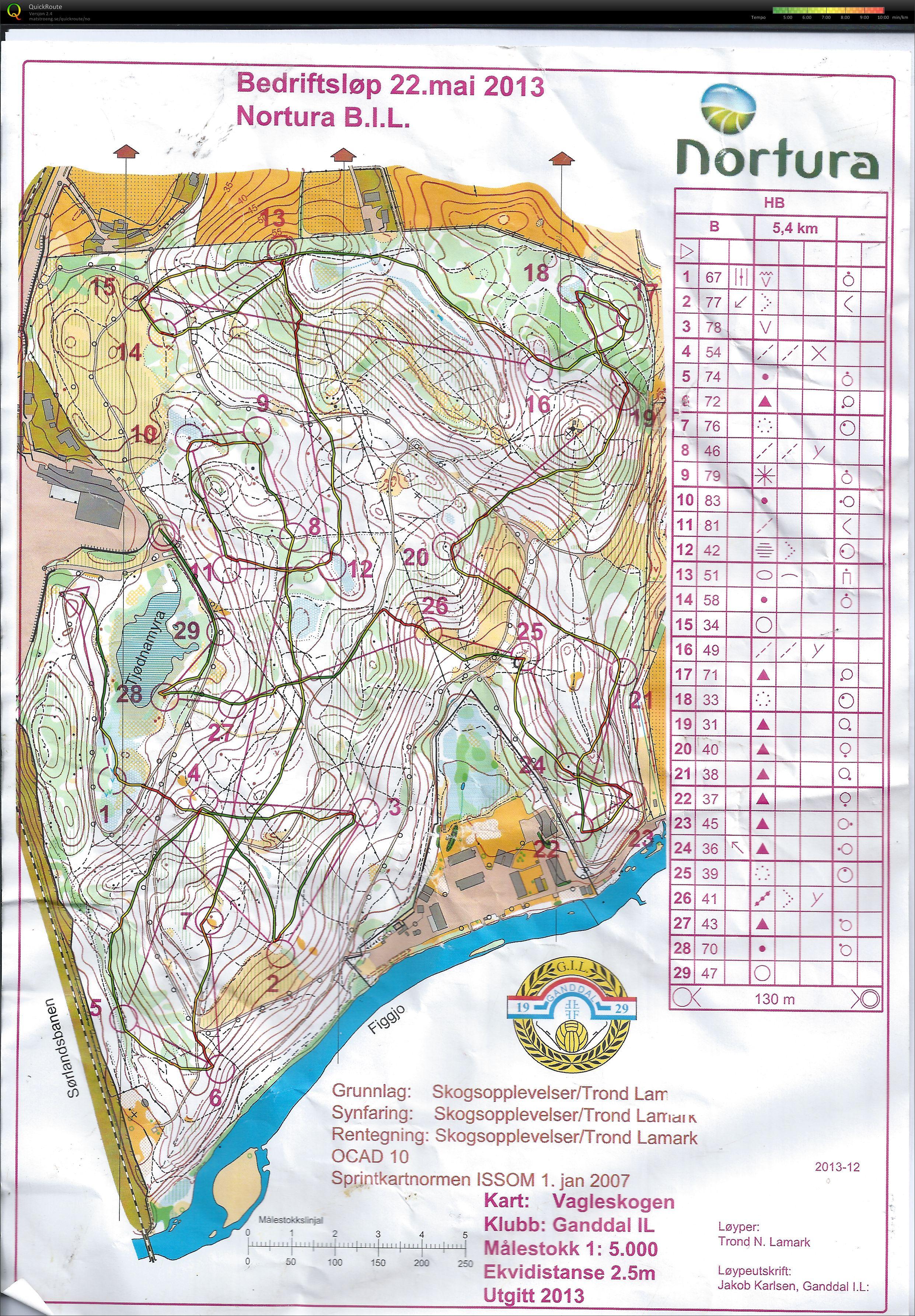 vagleskogen kart Mitt digitale veivalgsarkiv :: Bedriftsløp nr 7 Vagleskogen (22 05  vagleskogen kart